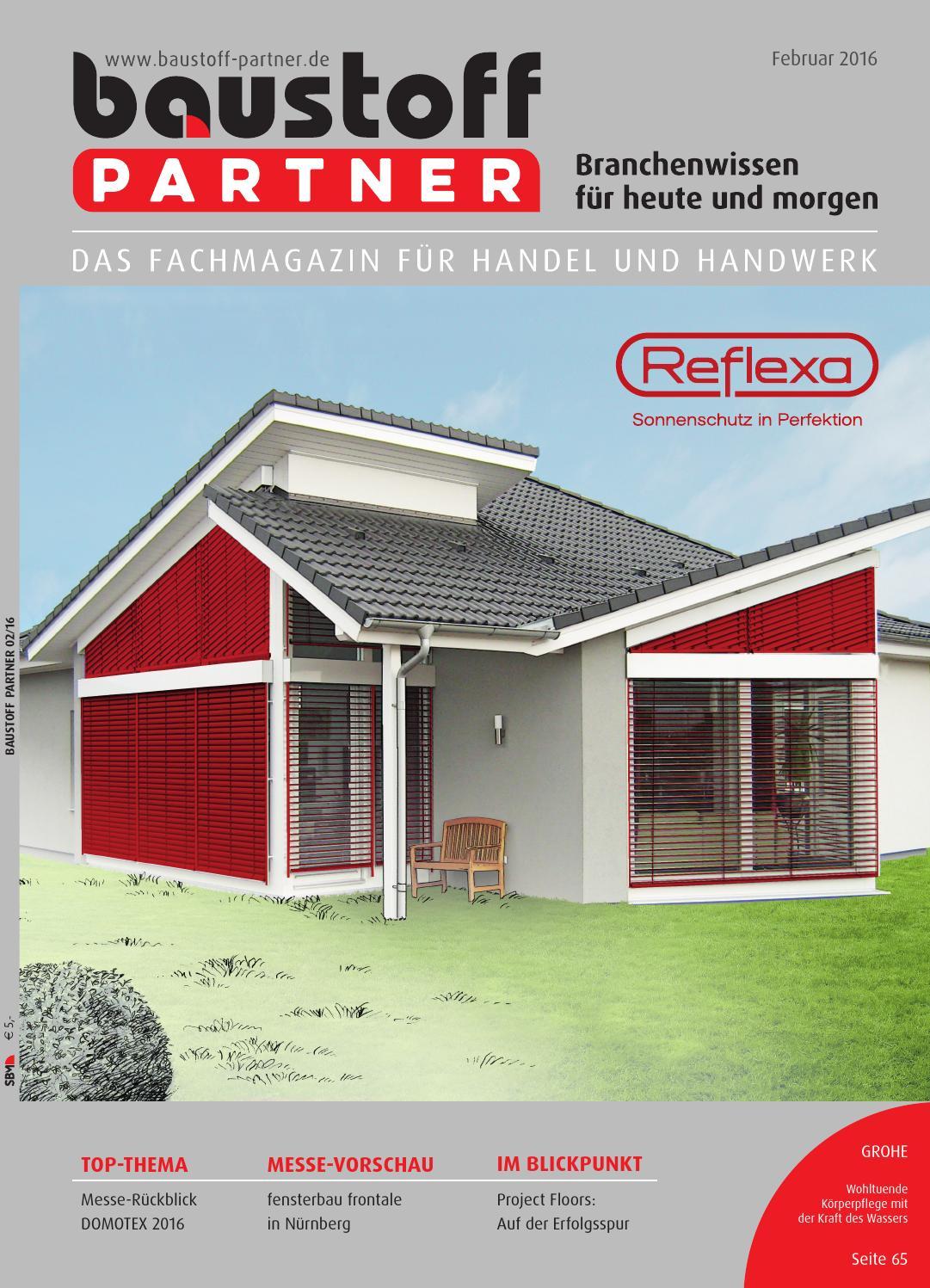 Baustoff-Partner Februar 2016 by SBM Verlag GmbH - issuu