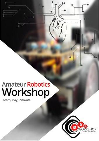 Amateur Robotics Workshop Brochure By Credence Robotics Issuu