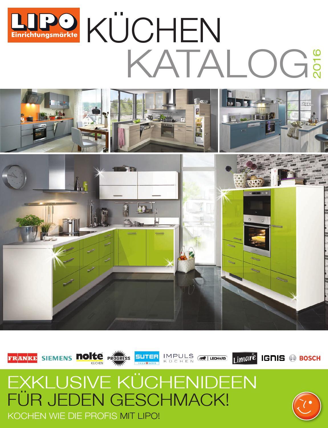 LIPO Küchenkatalog 2016 by sitesmedia - issuu