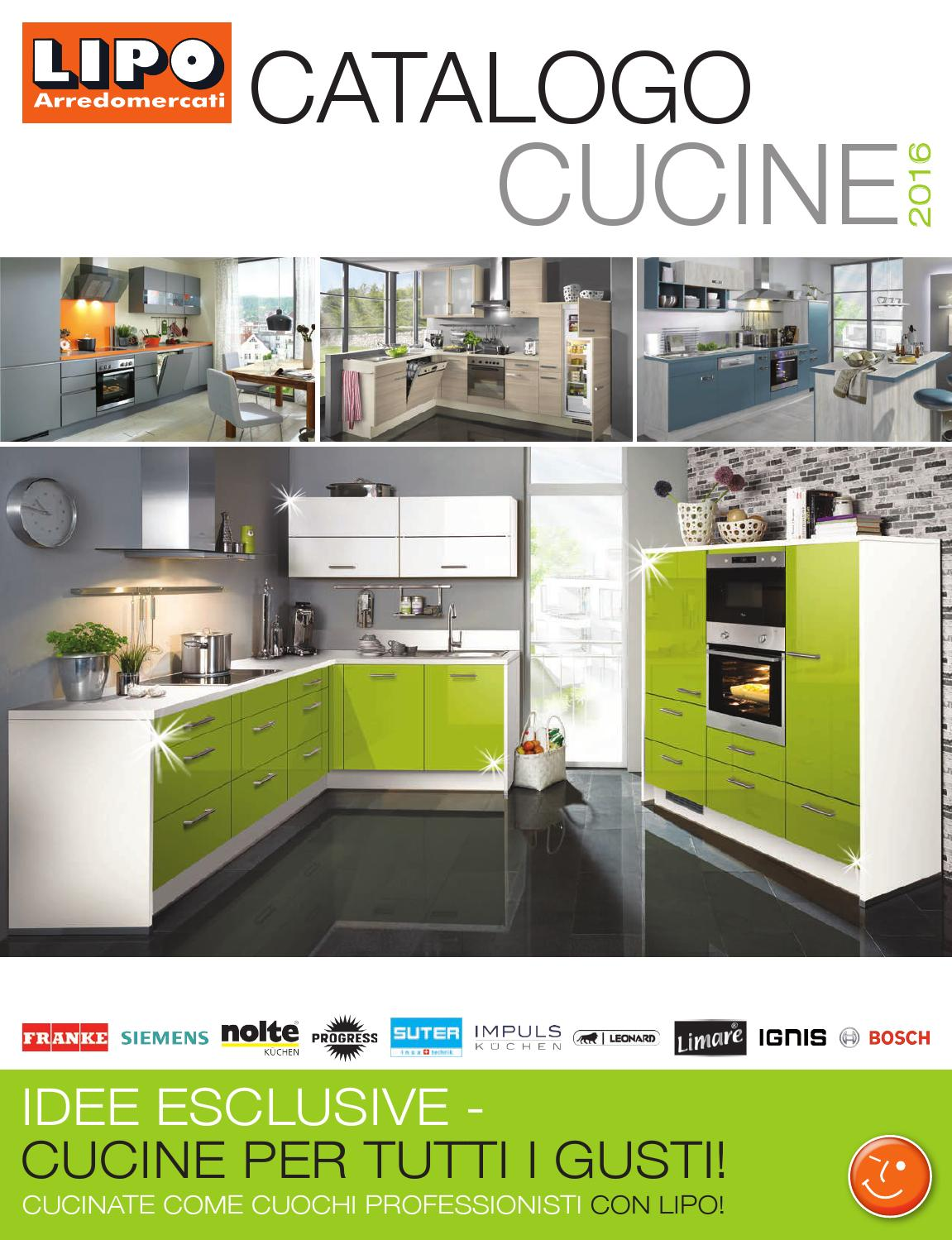 Catalogo cucine 2016 by sitesmedia - issuu