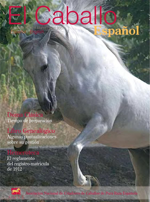 Revista El Caballo Español 2007 N178 By Revista El Caballo Español