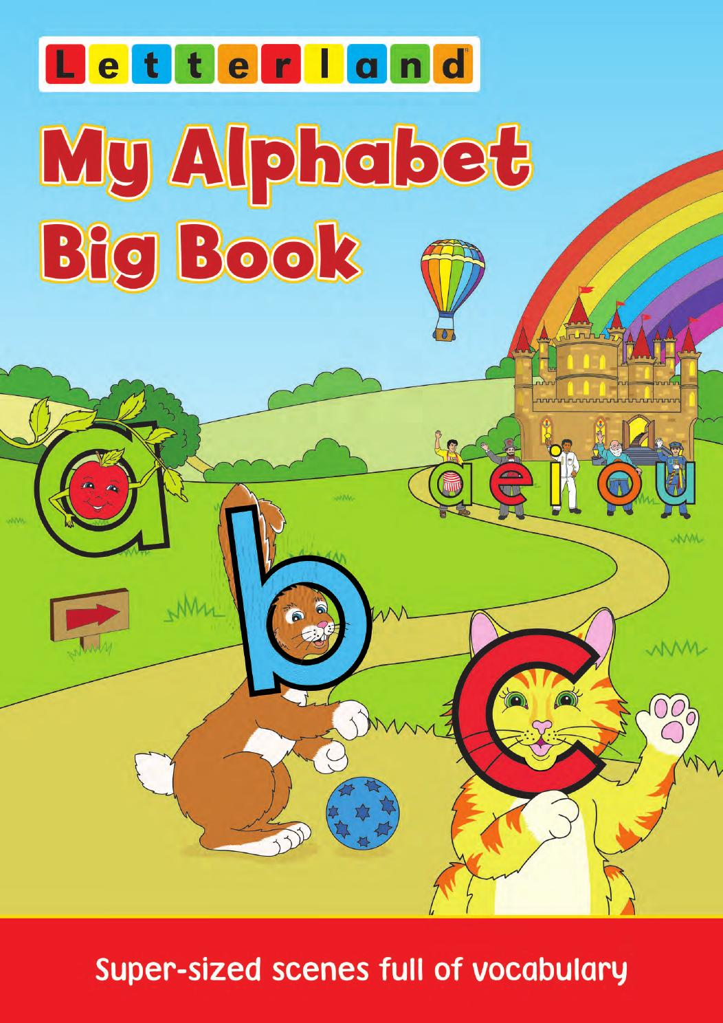Children Book Cover Page ~ My alphabet big book by letterland issuu