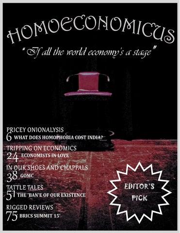 Homoeconomicus 2015 16 by Homoeconomicus - issuu