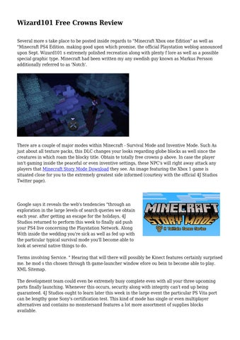 Wizard101 Free Crowns Review by latasha8lang37 - issuu