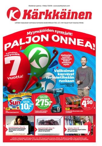 new style 25efe 08303 Kärkkäisen mainos (7 2016, Eteläinen) by Tavaratalo J. Kärkkäinen Oy ...