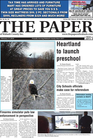 The Paper of Wabash County - Feb  17, 2016, issue