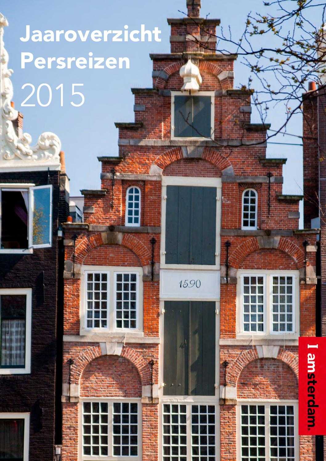 Jaaroverzicht Persreizen 2015 Amsterdam Marketing By Amsterdam