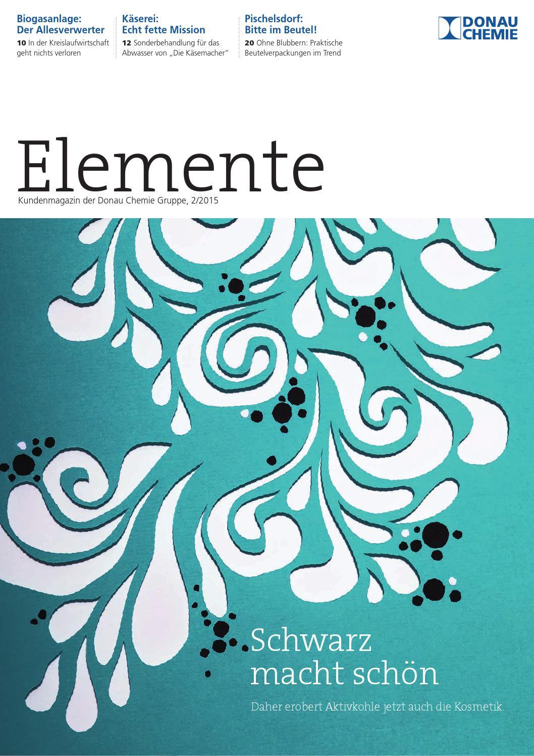 Elemente 2/2015 by Donau Chemie AG - issuu