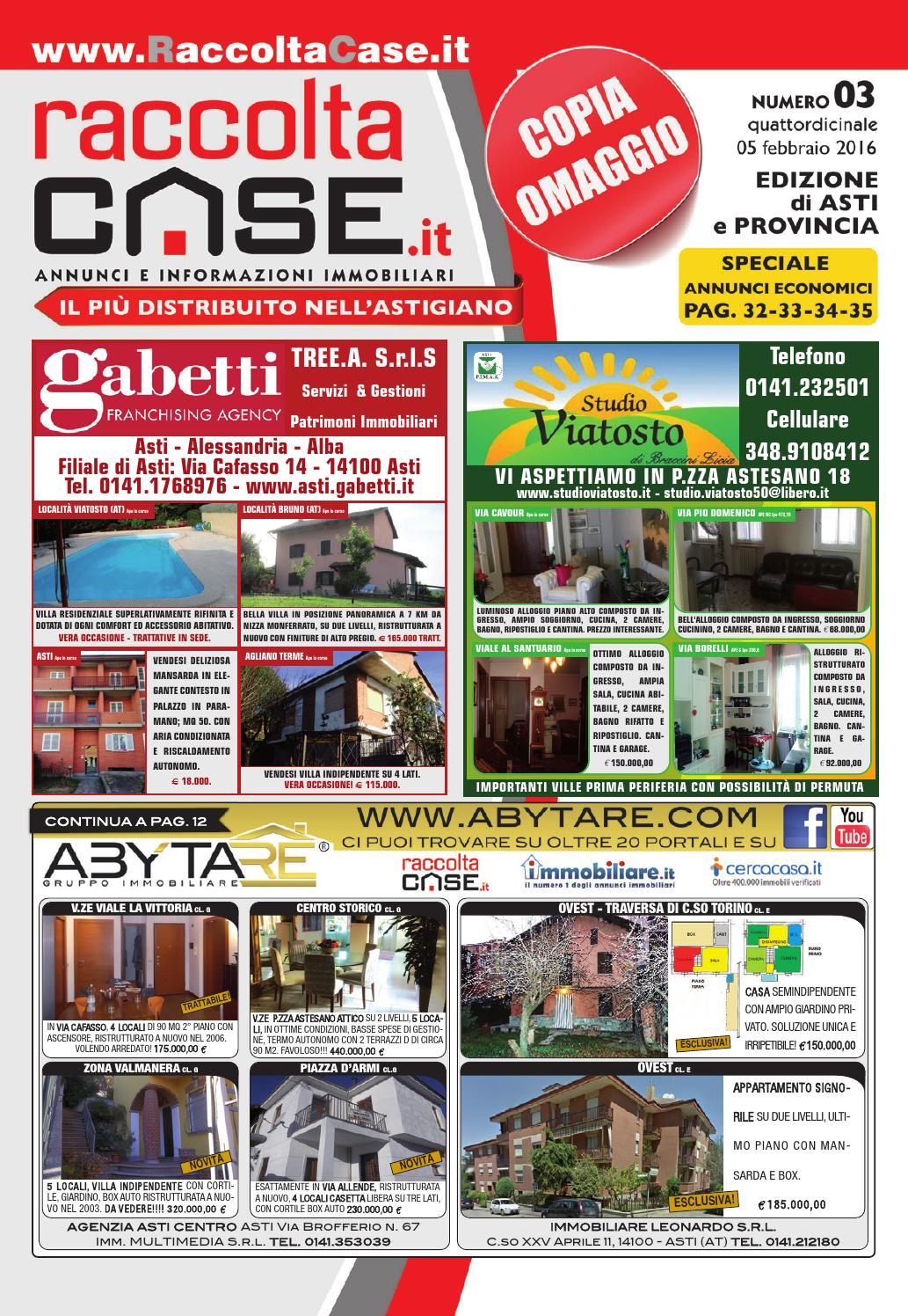 Raccolta Case Asti 03/2016 by Publidok S.r.l. - issuu