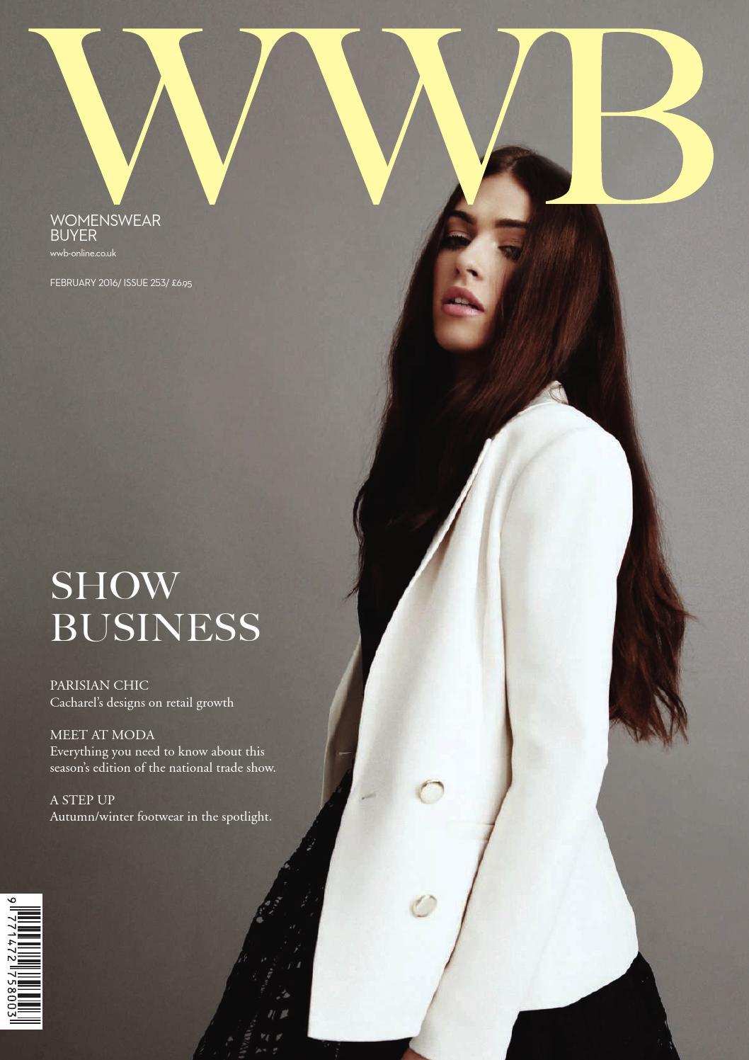 f30e65b2ddac WWB MAGAZINE FEBRUARY ISSUE 253 by fashion buyers Ltd - issuu