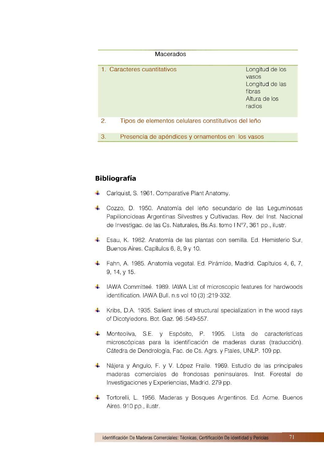 Identificación de maderas comercialesa by Alejandra Castrillón ...