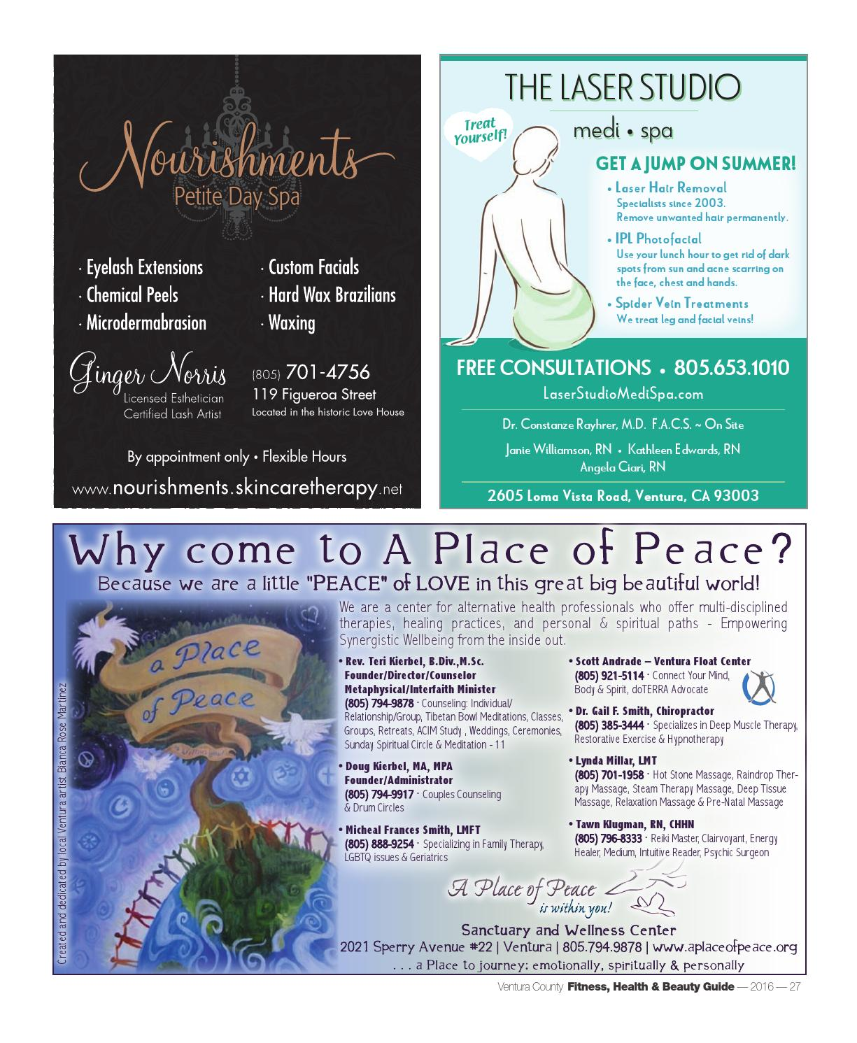 Ventura County's Fitness Health & Beauty Guide 2016 by
