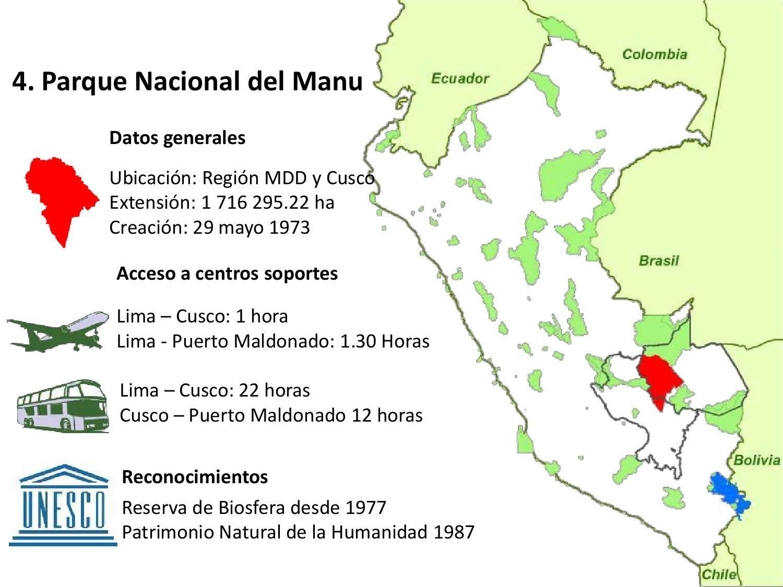 presentaci n parque nacional del manu y reserva nacional On como llegar al ministerio del interior