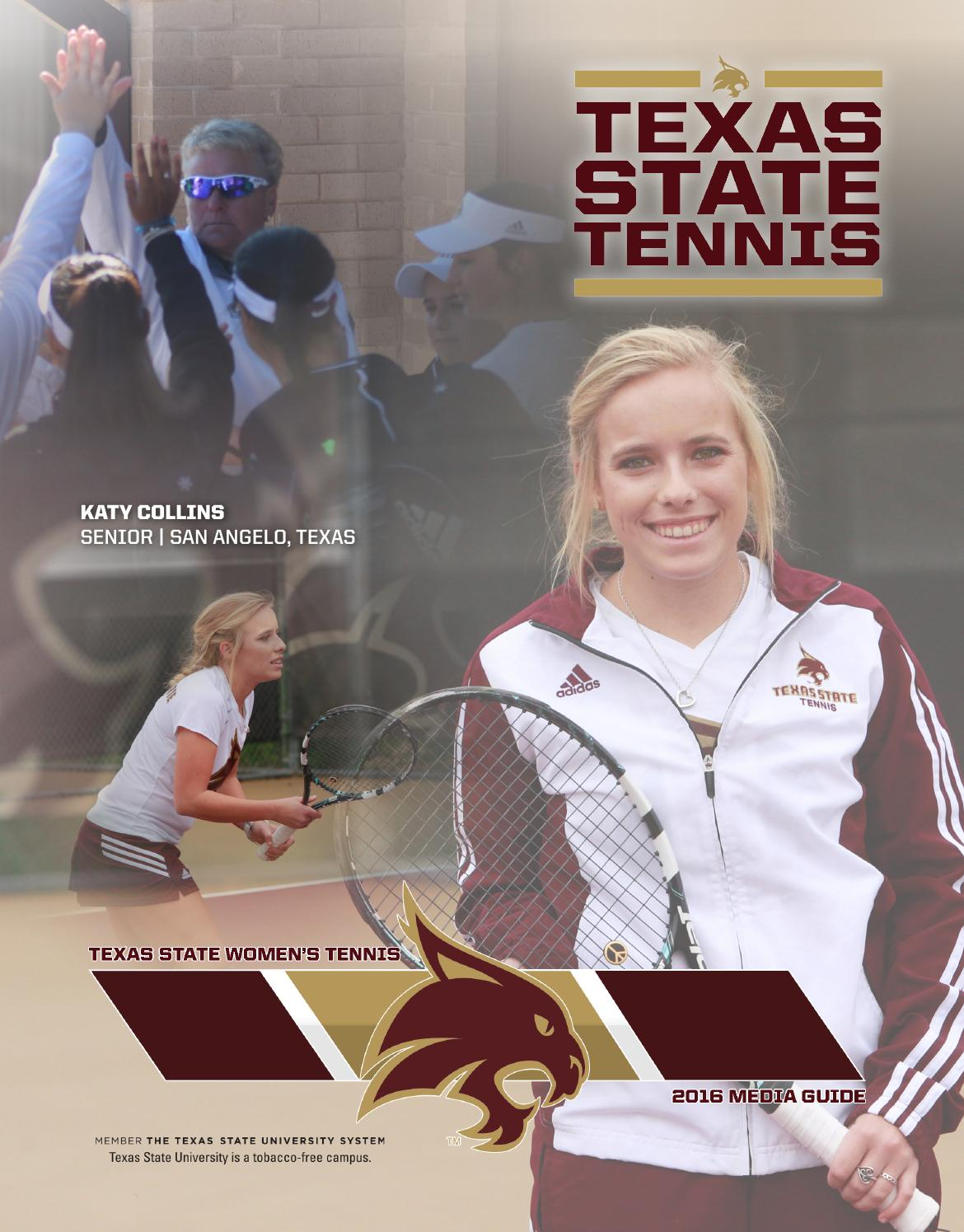 2016 texas state women's tennis media guide by Texas State ...