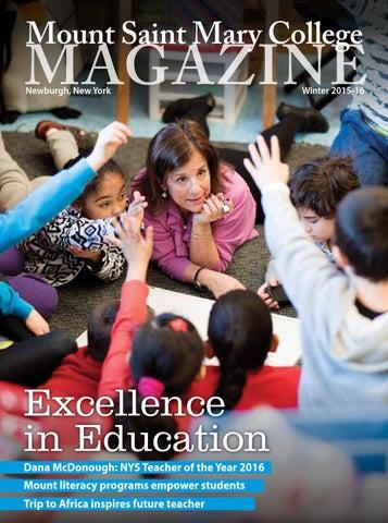 d70a23ecc03e58 Mount Saint Mary College Magazine Winter 2015-16 by Mount Saint Mary ...