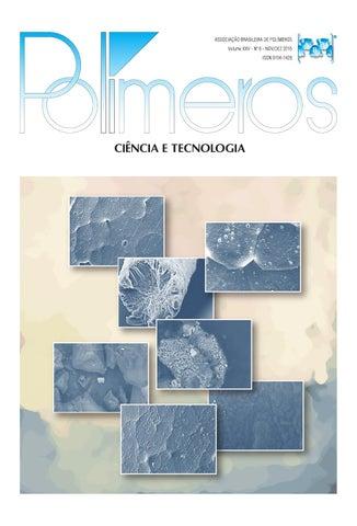 Polímeros Ciência e Tecnologia, vol.25, n.6, 2015 by Polímeros ...