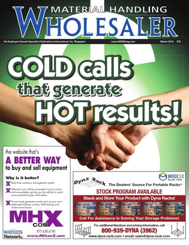 Material handling wholesaler march 2016 by material handling page 1 fandeluxe Choice Image