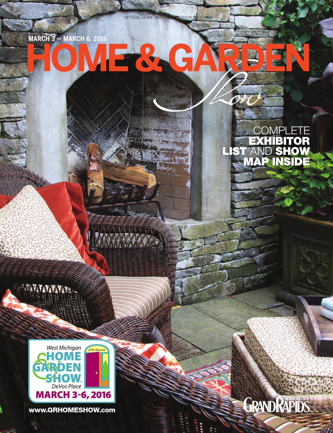 2016 West Michigan Home & Garden Show Program by ShowSpan