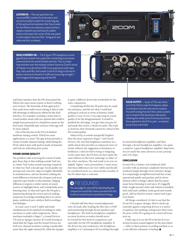 AudioTechnology App Issue 27 by Alchemedia Publishing - issuu