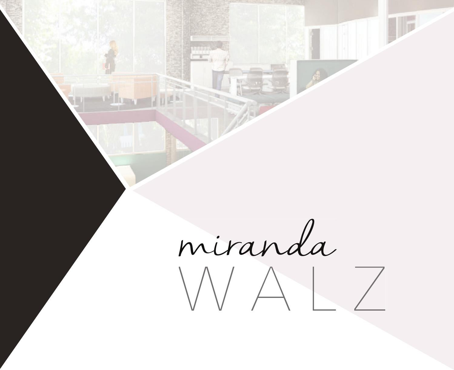 Interior Design Portfolio By Miranda Walz Issuu