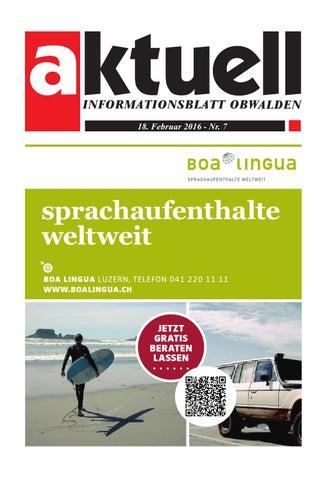 672900ff9ec5 Aktuell Obwalden 07-2016 by Aktuell Obwalden AG - issuu