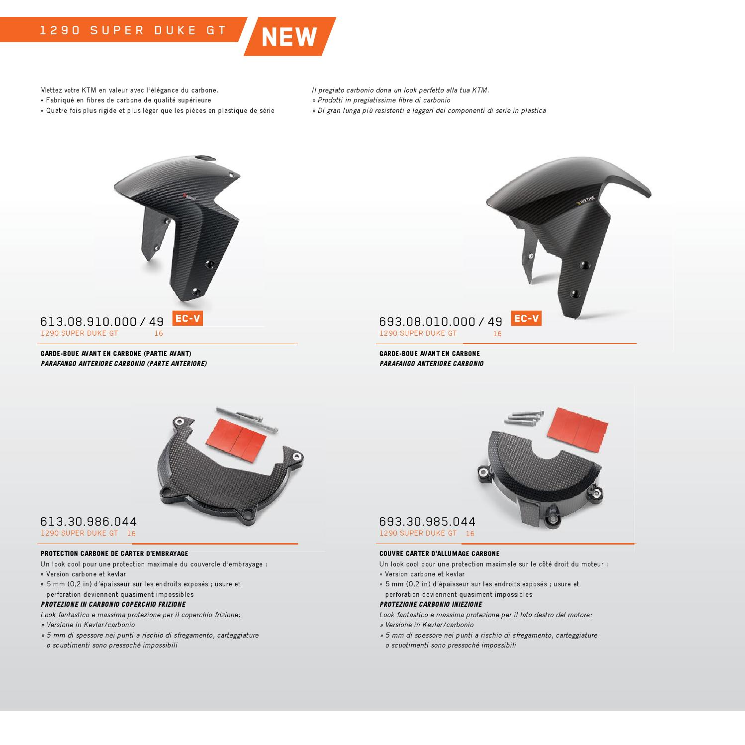 Ktm Powerparts Street Catalog 2016 Francais Italiano By Ktm Group