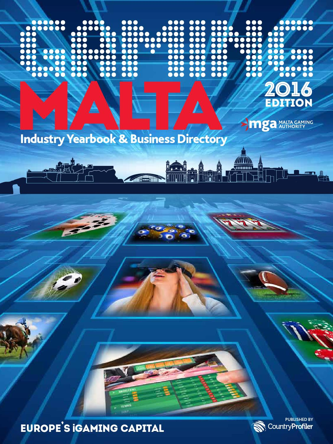 4f30819e03 Gaming Malta 2016 by CountryProfiler - issuu