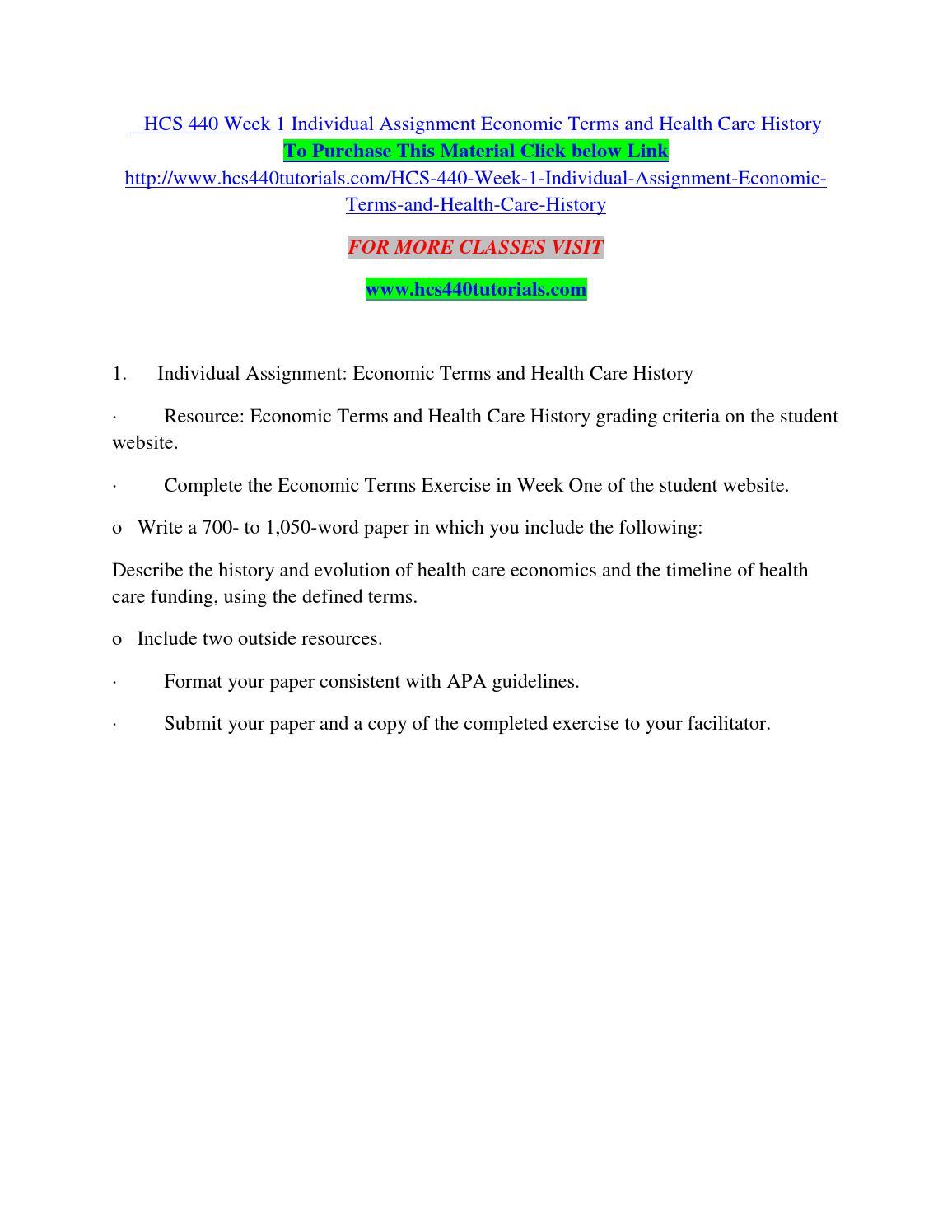 the history of healthcare economics