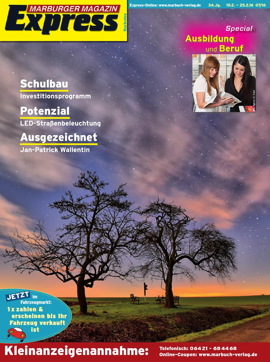 Marburger Magazin Express 7/2016 by Ulrich Butterweck - issuu