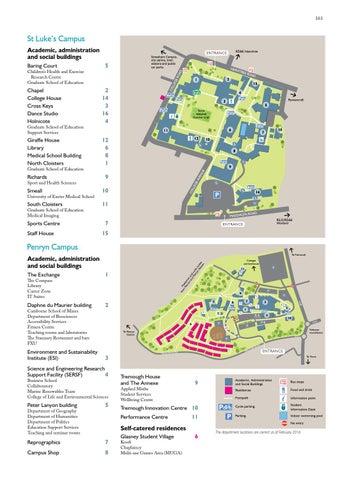 University of Exeter Undergraduate Prospectus 2017 by ... on map of washburn campus, map of kirkwood campus, map of pinkerton academy campus, map of stetson campus, map of creighton campus, map of dartmouth campus, map of usfsp campus, map of st mary's campus, map of raymond campus,