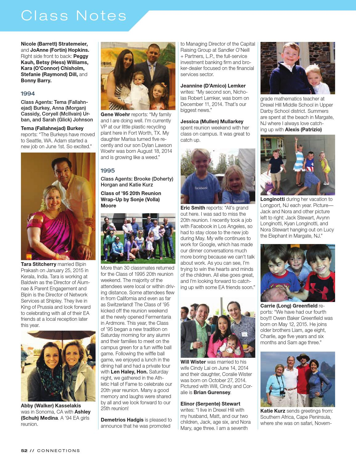 Connections Fallwinter 2015 By The Episcopal Academy Issuu