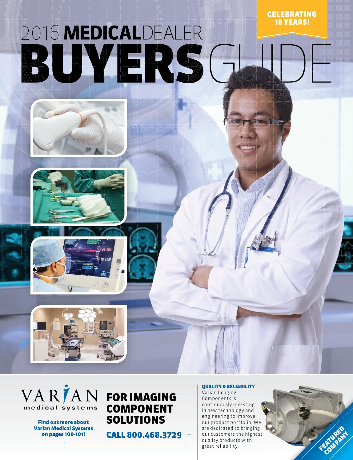 2016 Medical Dealer Buyers Guide by MD Publishing - issuu