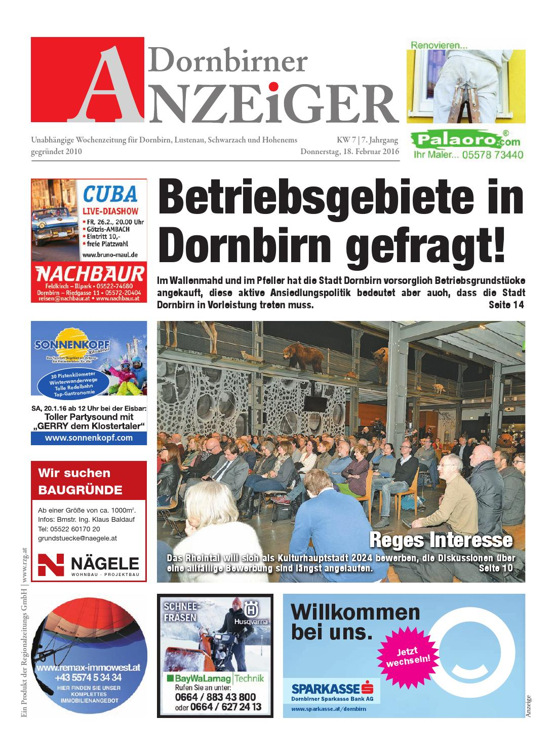 Bekanntschaften Dornbirn - huggology.com - Kleinanzeigen