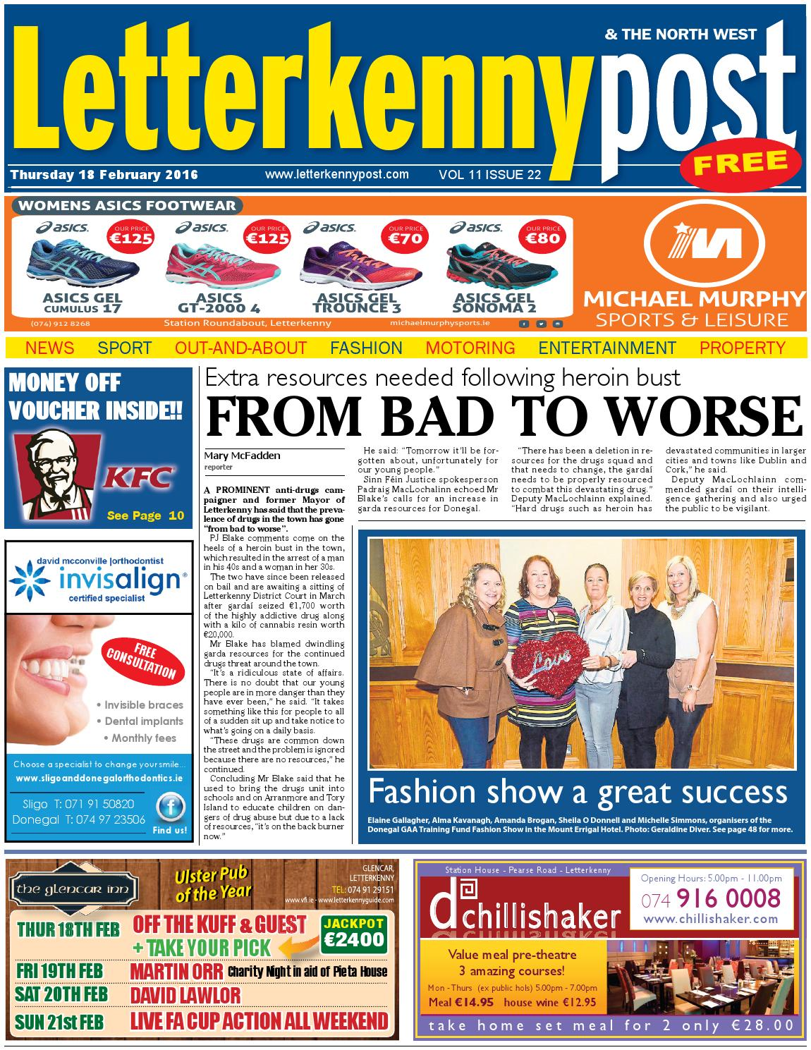 Letterkenny Post 18 02 16 By River Media Newspapers Issuu