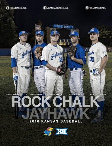 753a7f58d 2016 Kansas Baseball Media Guide by Kansas Athletics - issuu