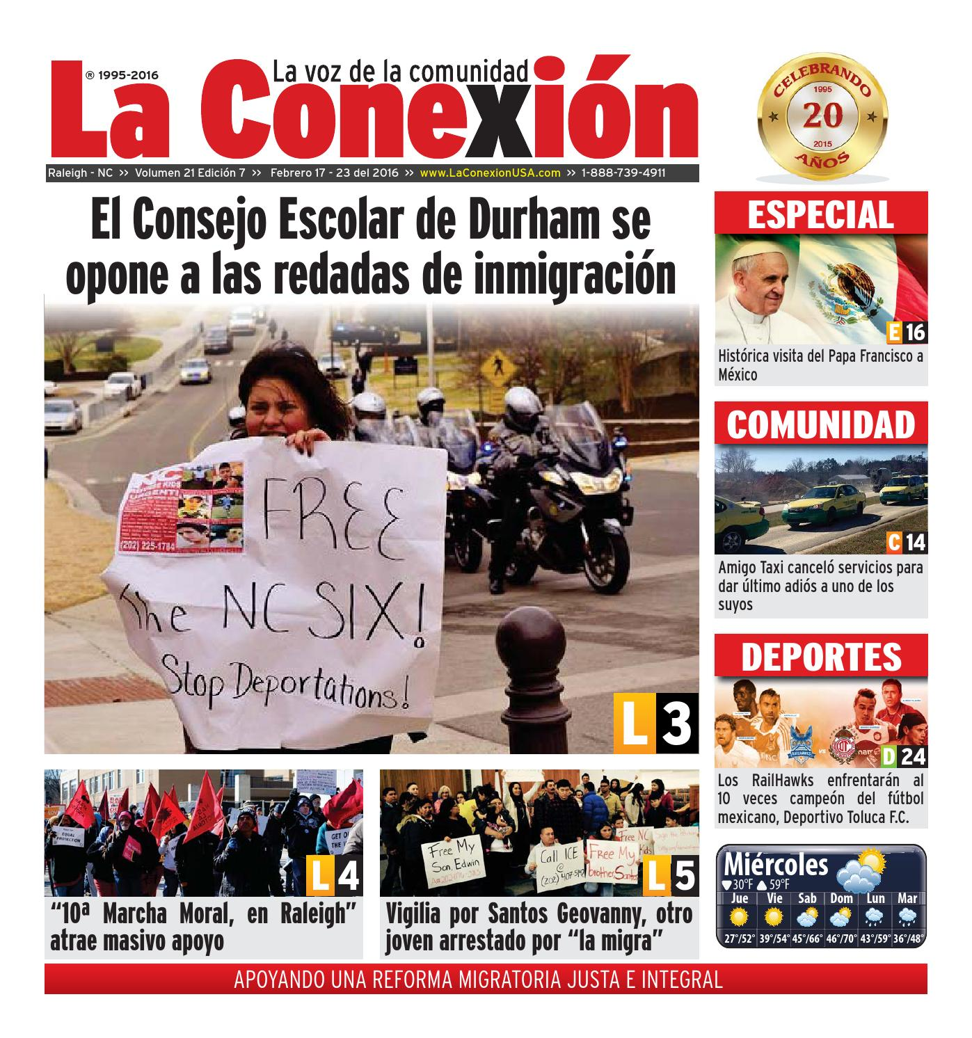 La Conexión 2016 2 17 by La Conexion USA - issuu