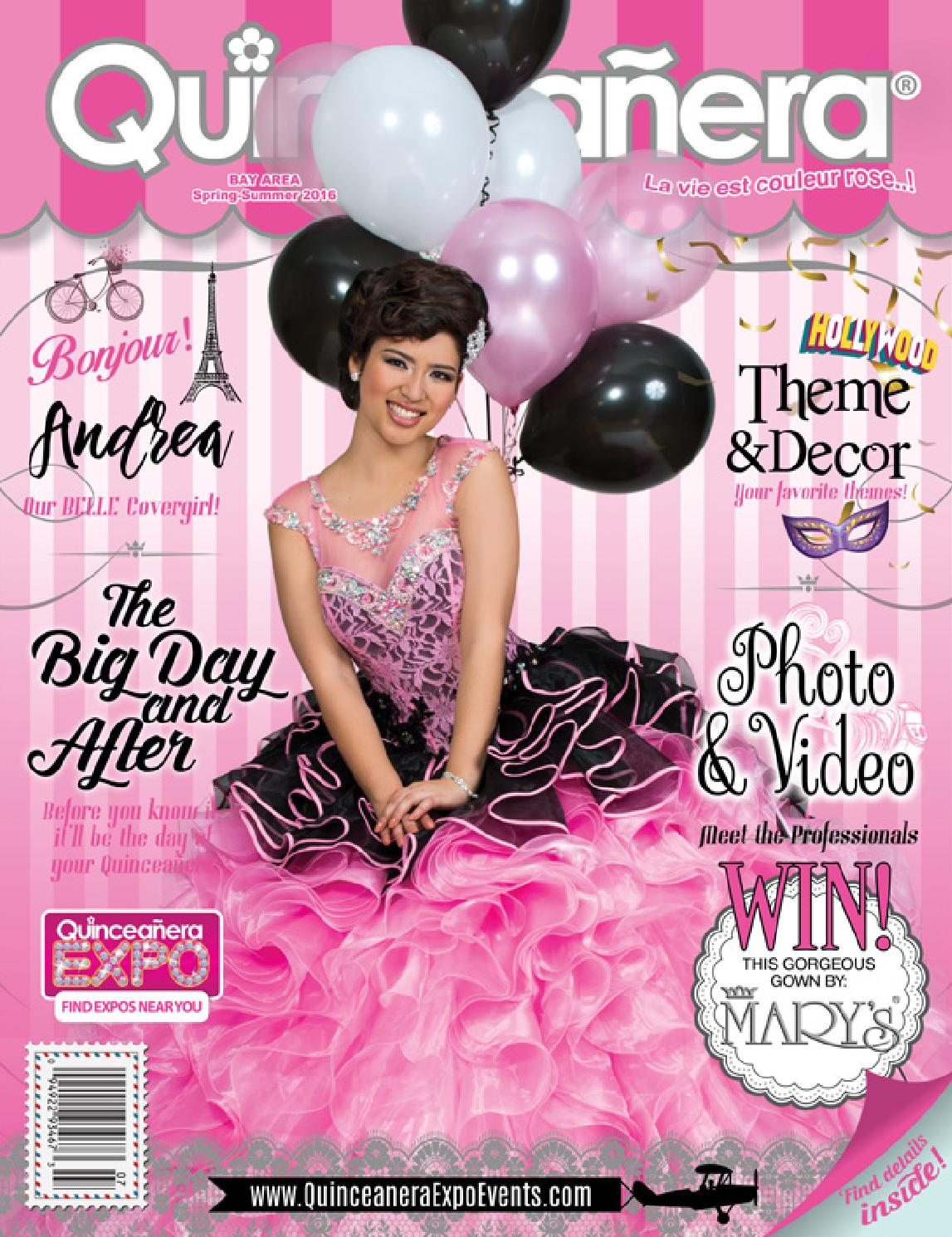Quinceanera Magazine Bay Area Spring to Summer 2016 by Quinceañera ...