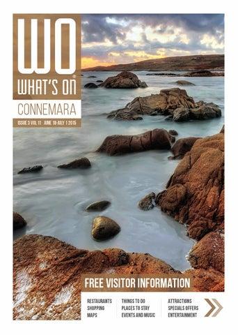 347d918f5f116 What's On Connemara, Issue 3, Volume 11, 2015 by Destination ...