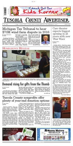 e1c4dde42 Tca 12 16 15 all pages by Tuscola County Advertiser - issuu