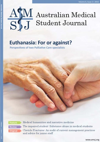 Australian Medical Student Journal Vol 6 Issue 2 By Australian