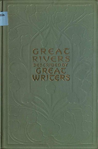 Great Rivers Of The World By Iacopo Issuu