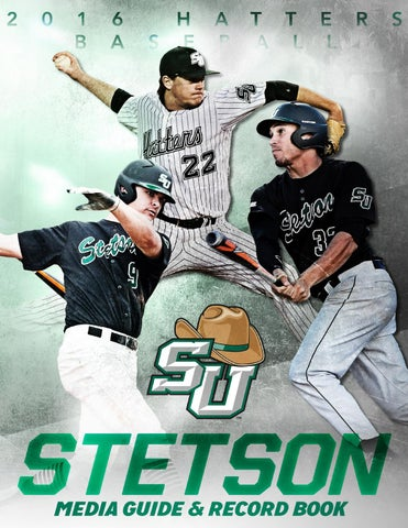 b12e7bfb8dc 2016 Stetson Baseball Media Guide   Record Book by Stetson ...