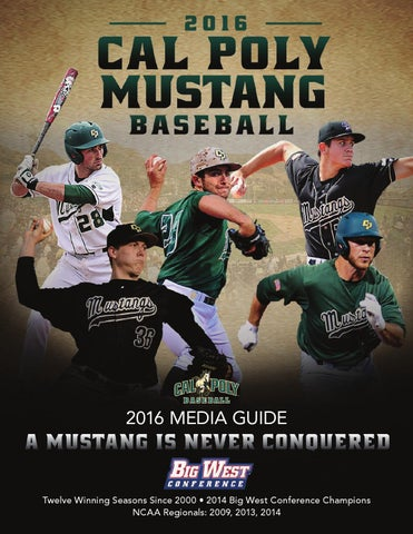 f674ec68669 2016 Cal Poly Baseball Media Guide by Cal Poly Athletics - issuu