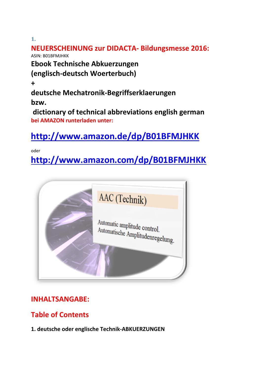 dictionary technical abbreviations english german technik. Black Bedroom Furniture Sets. Home Design Ideas