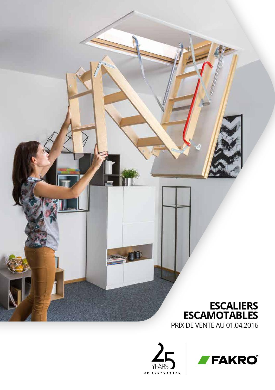 c531 fakro escaliers escamotables 01 04 2013 0 by fakro issuu. Black Bedroom Furniture Sets. Home Design Ideas