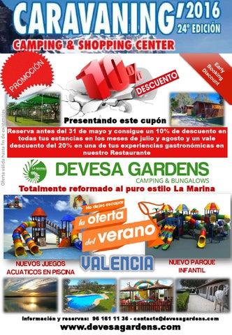 Oferta Caravanning Devesa Gardens By La Marina Resorts Issuu
