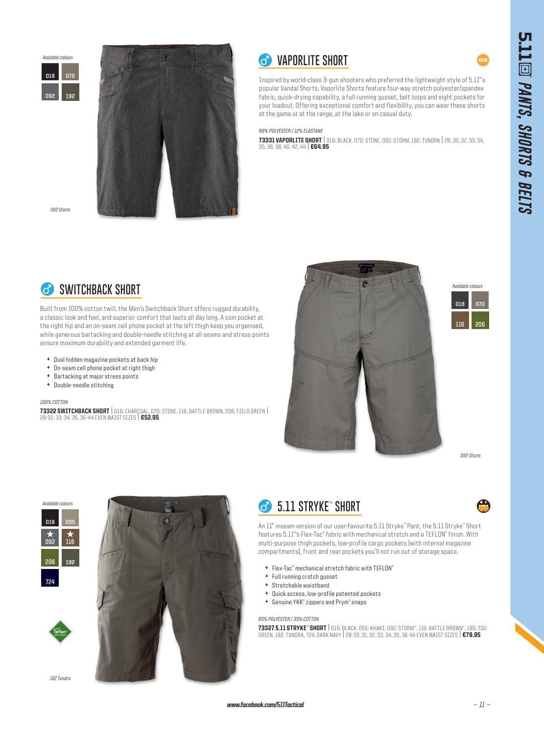 5.11 Mens Switchback Shorts