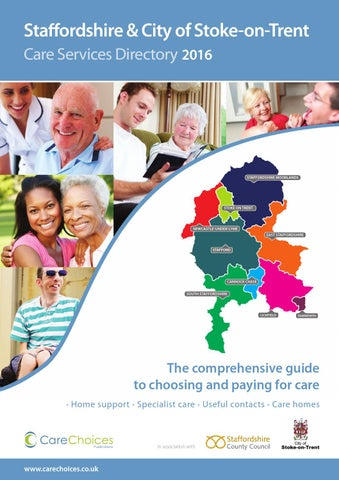 Staffordshire City Of Stoke On T Care Services Directory 2016
