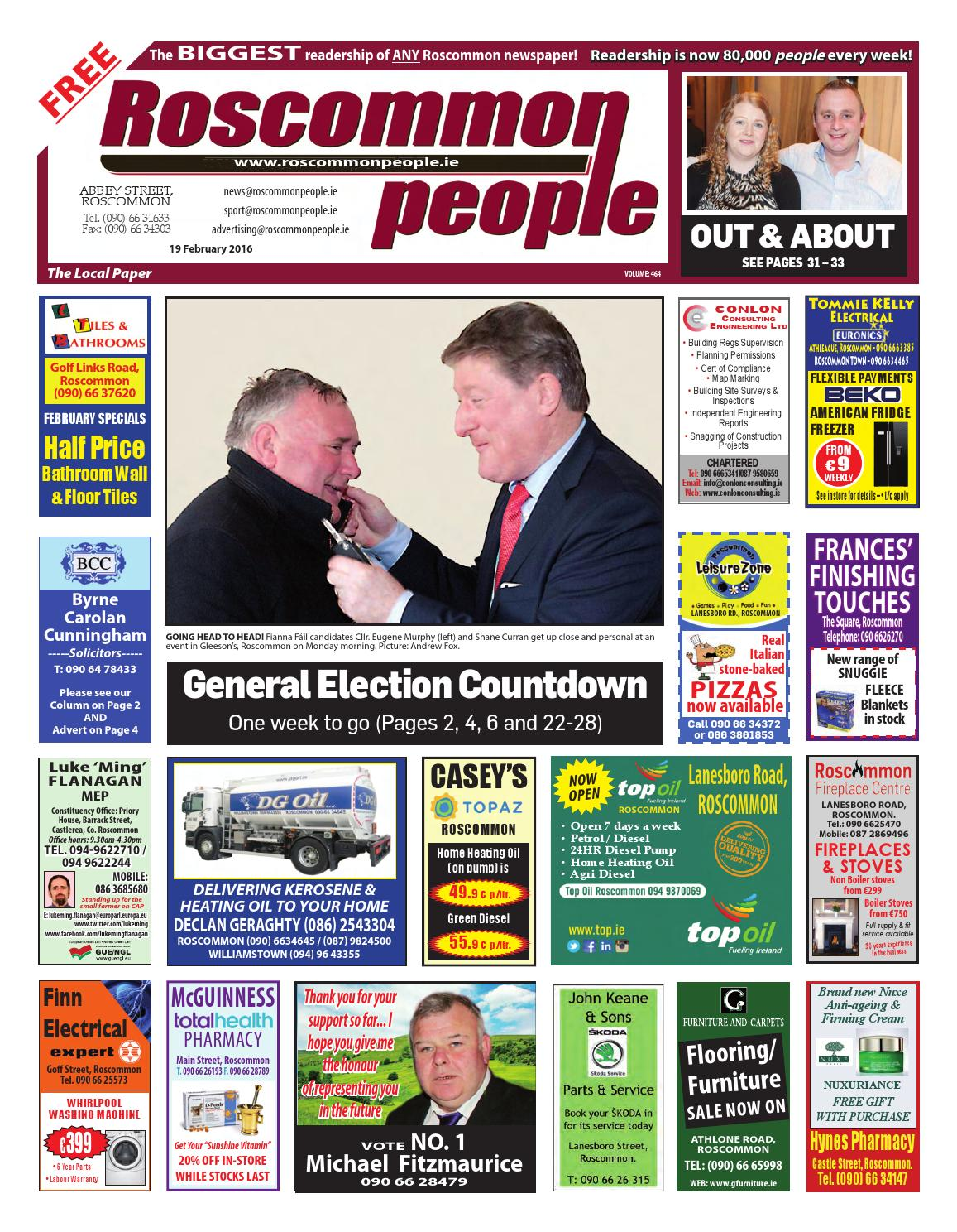 a2a4307cc4 2016 02 19 by Roscommon People - issuu