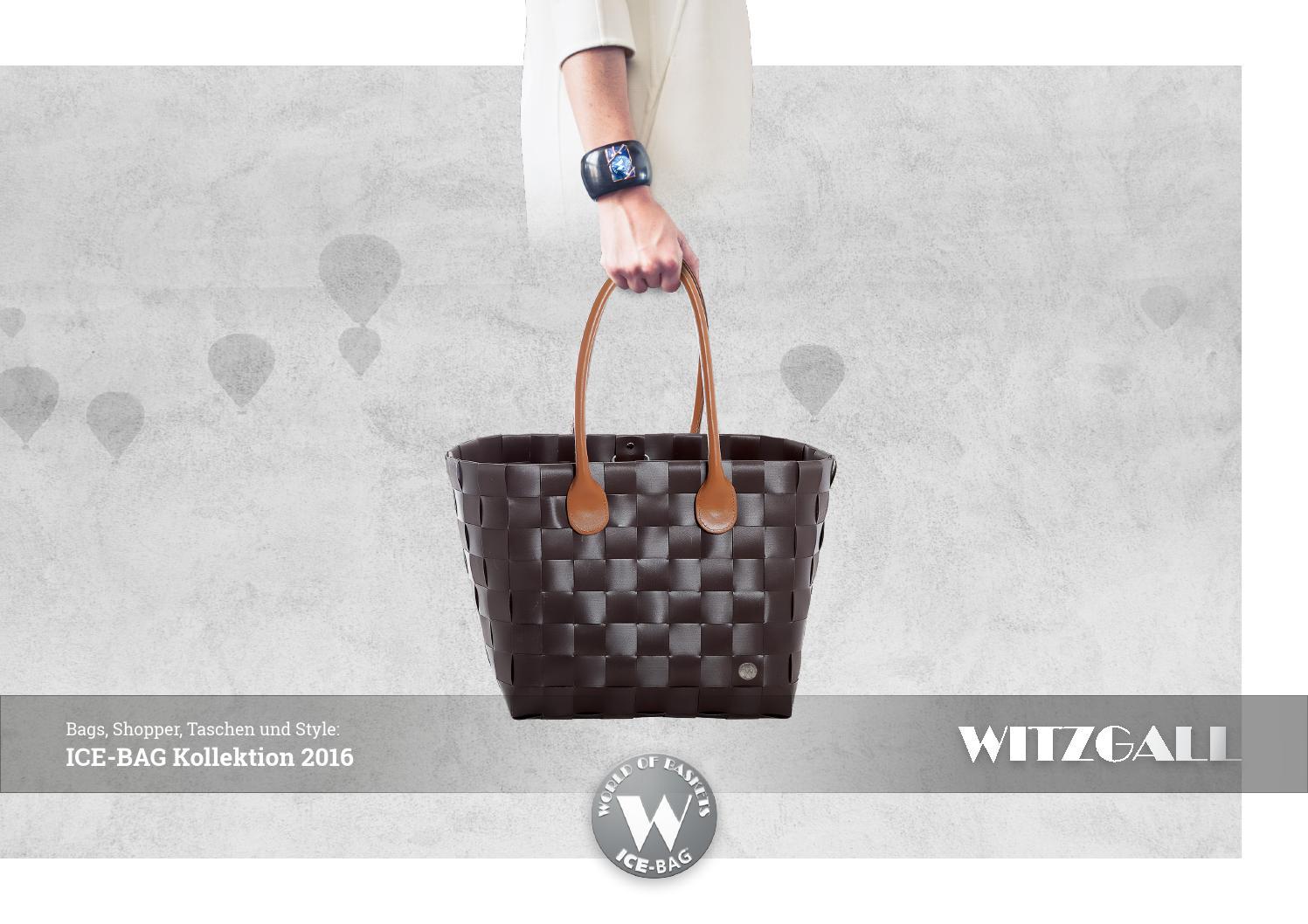Witzgall 5006-23-0 Big City Shopper Ice-Bag Original 43 x 37 x 22 cm